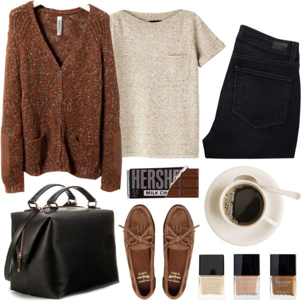 Untitled by hanaglatison on Polyvore featuring mode, Pull&Bear, A.P.C., Paige Denim, Zara and Butter London