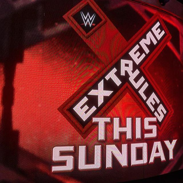 Tonight is the final #Raw before #ExtremeRules! Tune in tonight at 8pm/7ct on @usa_network! #WWE