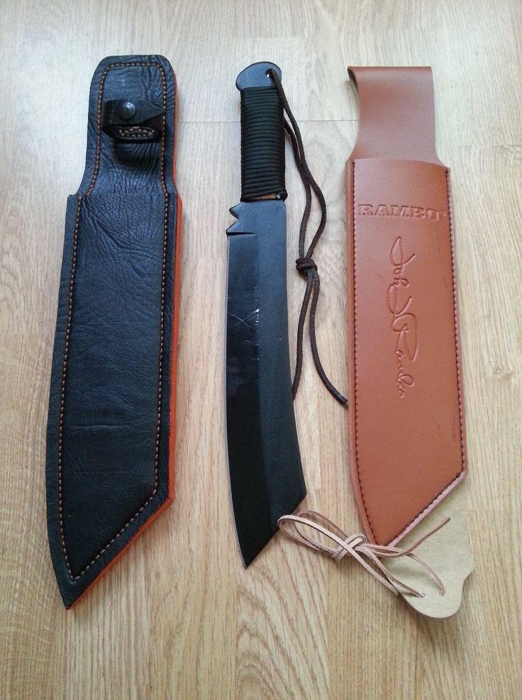 leather sheath for Rambo knife machete