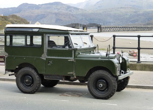 Pin On Land Rover Series 1 Station Wagon