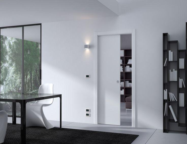 Edistyksellinen Eclisse Pocket Door Luce -liukuovijärjestelmä on varusteltu patentoidulla ratkaisulla, joka mahdollistaa sähköjohtojen, valonkatkaisimien, termostaattien, pistorasioiden ja muiden elektronisten ohjainten asentamisen samaan seinään liukuovikehyksen kanssa.