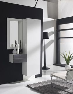 70 best meubles d 39 entr e design ou contemporains images on pinterest cabinet furniture. Black Bedroom Furniture Sets. Home Design Ideas