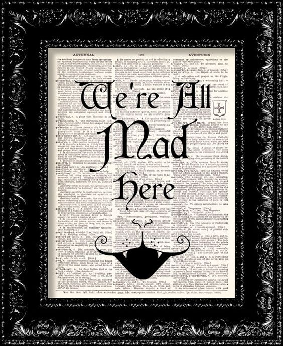 We love this DIY vintage framed book quote idea: Display a famous book quote on recycled dictionary paper.