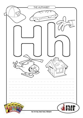Letter H- Name as many things as you can that start with ...