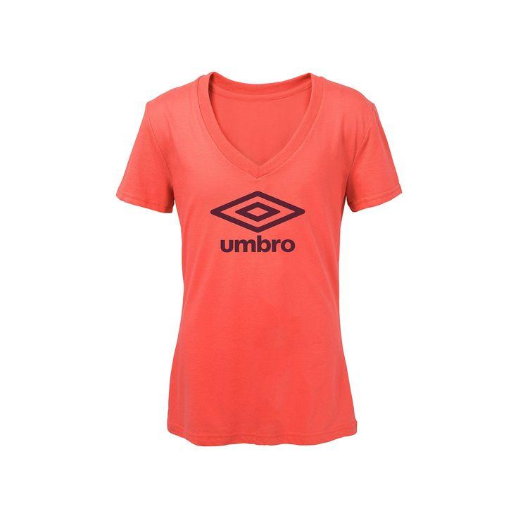 Women's Umbro Logo Graphic Tee, Size: XL, Orange Oth