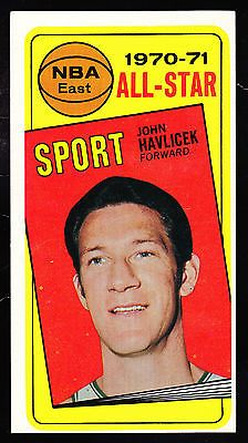 1970-71 TOPPS #112 JOHN HAVLICEK ALL-STAR