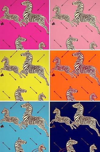 Scalamandre zebras