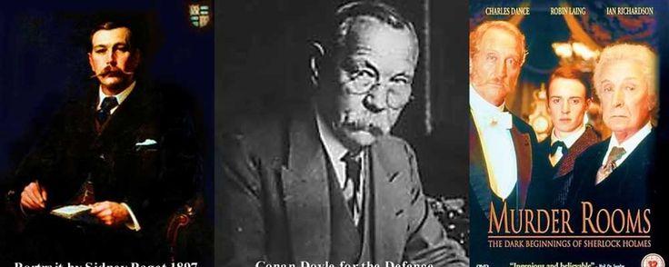 Murder Rooms – Gli occhi della paziente (2001) THRILLER – DURATA 90′ – GRAN BRETAGNA Il dottor Arthur Conan Doyle assiste una giovane paziente, terrorizzata da qualcuno che la segue mentre va in giro in bicicletta. Al caso si unisce anche il dottore e mentore Joseph Bell che sin da subito non è convinto della tesi della ragazza, secondo cui a perseguitarla è lo spirito dell'uomo che anni prima le ha ucciso i genitori…