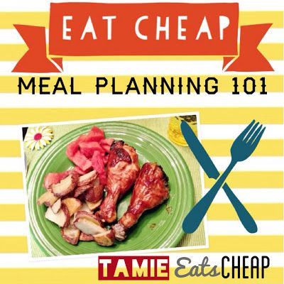 taking the plunge into domesticity ..Eat Cheap :: Meal Planning 101