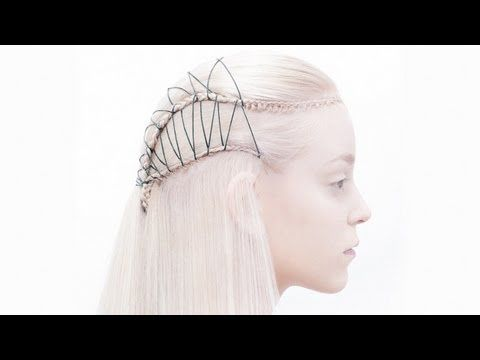 ▶ Hairstyling video - Threading - Lord of the Rings Elf Hairstyle - Preview 260 - YouTube