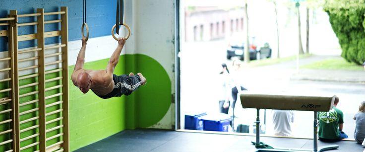 Co-owner Scott H. flying like Superman!