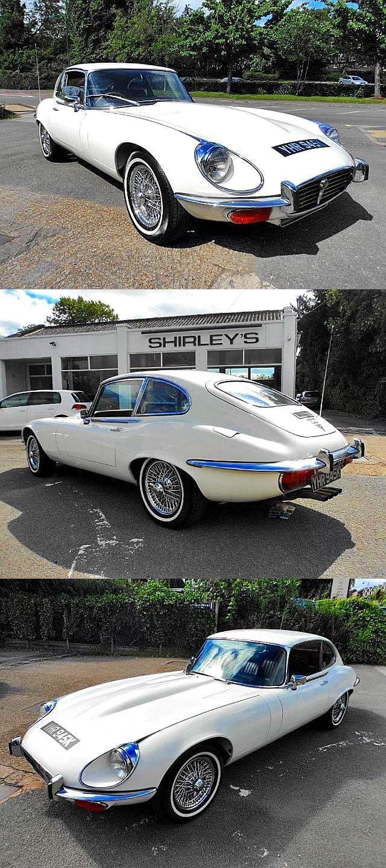 1972 jaguar e type series 3 2 2 v12 in old english
