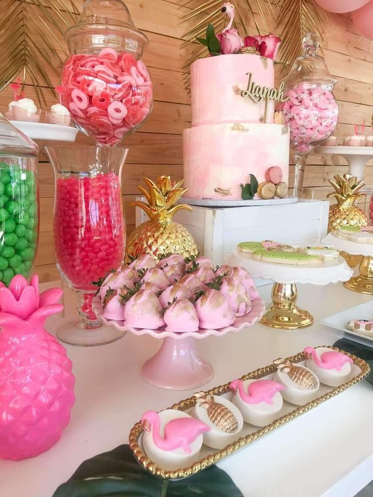 How To Create A Baby Shower Dessert Bar In 2019 Baby