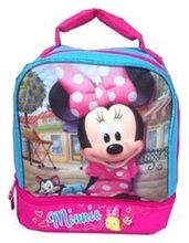 Disney Junior Minnie Mouse Dual Compartment Insulated Lunch Box