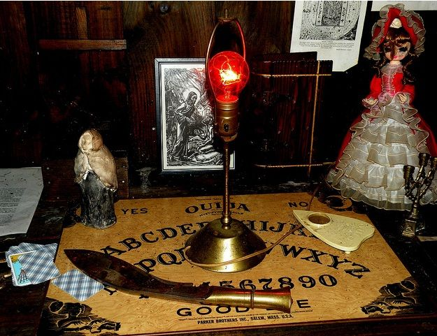 The Warren Occult Museum was founded in 1952 by famed paranormal investigators Ed and Lorraine Warren, most notable for their investation of the Amityville house. They created the New England Society for Psychic Research in 1951. The museum is the world's largest and oldest museum of its kind, boasting a vast collection of haunted items and items used in occult and satanic rituals. One of the museum's most popular items is a haunted Raggedy-Ann doll by the name of Annabelle, which- wh