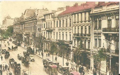 Bulevardul Elisabeta - vedere catre Calea Victoriei