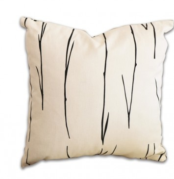 Stems Cushion by Karen Brock for The Eco Collective
