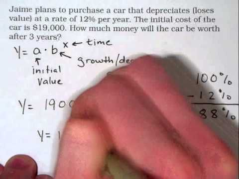Algebra Review Exponential Growth and Decay