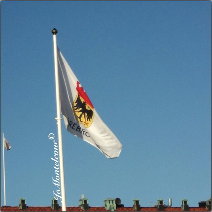 Orebro's flag
