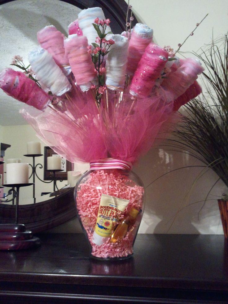 Diaper Bouquet I made!