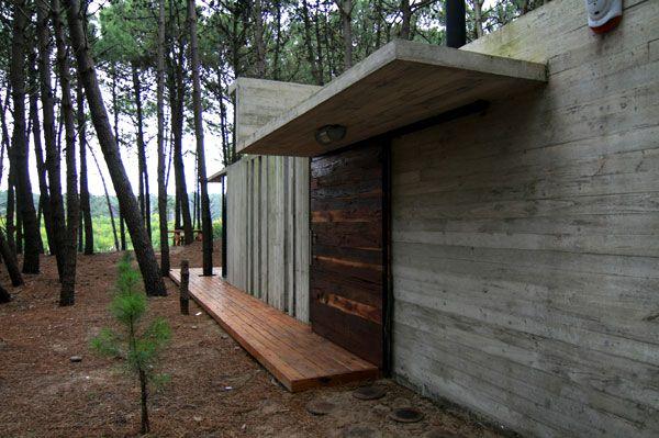 ARQUIMASTER.com.ar   Proyecto: Casa XS (Vivienda de veraneo en Bosque de Mar Azul) - BAK arquitectos   Web de arquitectura y diseño