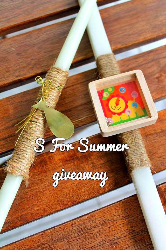 Διαγωνισμός του S For Summer με δώρο υπέροχη χειροποίητη λαμπάδα Color Your Soul,http://www.diagonismoidwra.gr/?p=10480