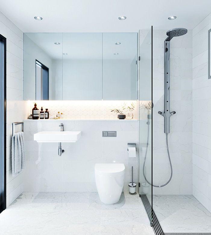 40 ไอเด ย ห องน ำสไตล ม น มอล ส นทร ยภาพแห งการอาบน ำท เร ยบง าย Naibann ข อม ลซ อขายบ าน บ Minimalist Bathroom Bathroom Styling Best Bathroom Designs