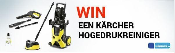 Win een Karcher Hogedrukreiniger !!! Speel mee met de nieuwe wedstrijd van hebbes en maak kans om een Karcher hogedrukreiniger te winnen. Wees er wel snel bij want de wedstrijd loopt slechts tot 18 maart. Ontdek het hier ==> http://gratisprijzenwinnen.be/win-een-karcher-hogedrukreiniger/  #gratis #win #karcher #hogedrukreiniger