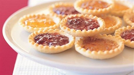 Jam and marzipan tartlets | Cookies, Bars and Other Crummy ...