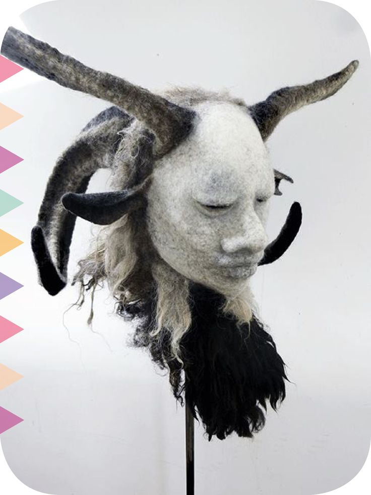 After a few months off DHG workshops are back. We've got some really big names lined up for 2018. First up is a unique artist: Gladys Paulus felt artist.  #workshop  Gladys Paulus - Fantasy Masks Masterclass  2nd to 5thMarch 2018 Limited places available: maximum 10 students.  Sign up before the end of January and get 20% off.