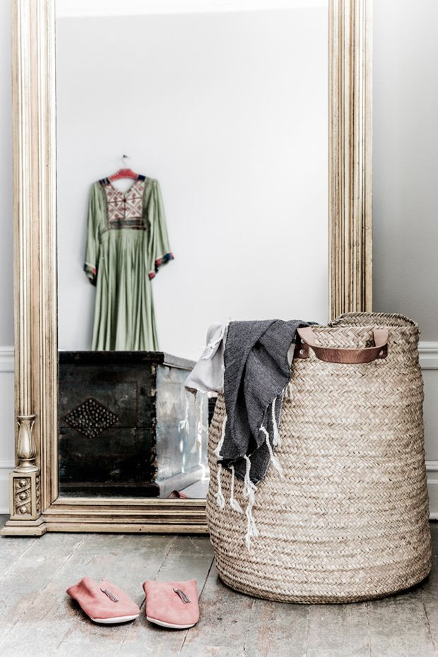 Scandinavian meets bohemian chic in this beautiful Swedish home. Owner Malin Persson has mixed a white base with natural materials and accessories sourced on travels, resulting in a bohemian chic vibe