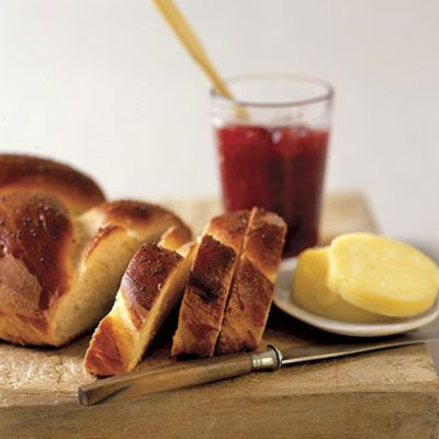 Challah Bread- 3 teaspoon(s) active dry yeast 1/4 cup(s) sugar 4 cup(s ...