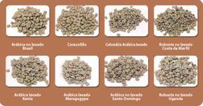 Granos de café Existen más de 60 variedades de cafés y se cultiva en más de 50 países de todo el mundo. De ellas, 30 producen más de 5 millones de toneladas de café al año.