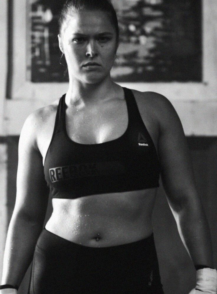 Ronda Rousey Perfect Never, Self-Confidence Lesson