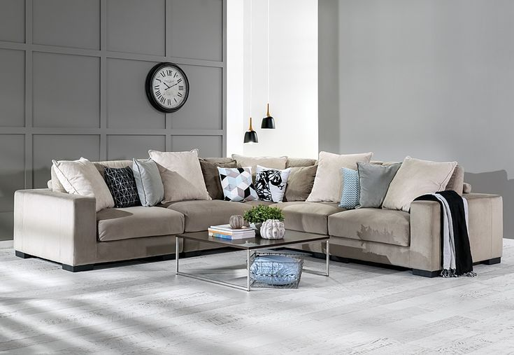 Big And Beautiful, The Massive Seattle Corner Lounge Suite Comes With All  The Comfort And Space You Need To Complete Your Living Area.