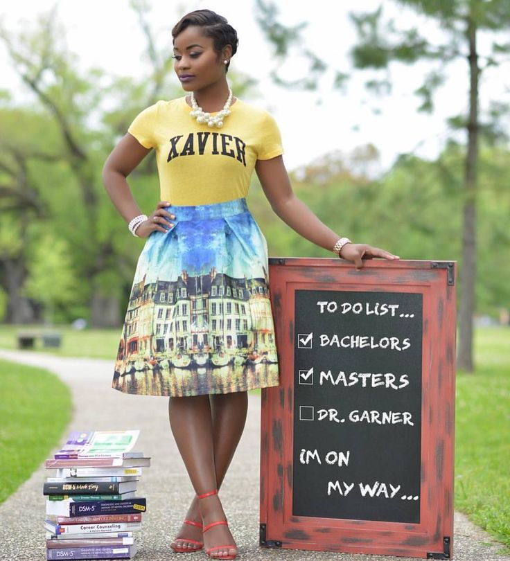 Bachelors  Masters  Dr. Garner... in process  Congrats @justdatgorgeous!! #BlackGirlsGraduate  @dellshotme #BlackGirlMagic  by blackgirlsgraduate