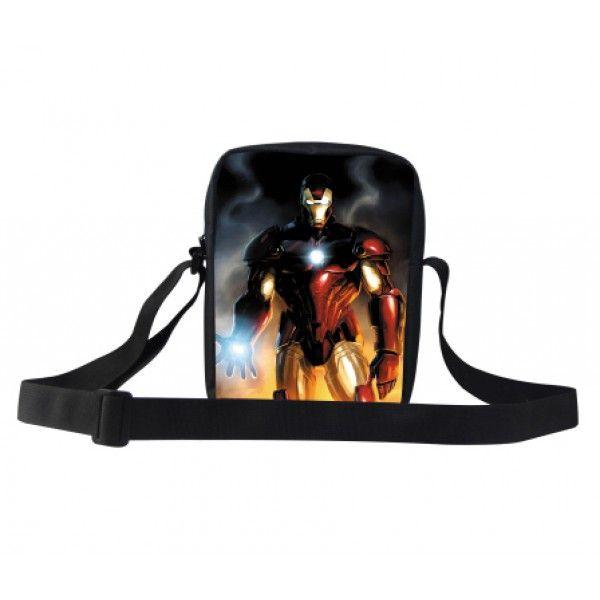 Ironman fra Marvel Avengers taske til drenge i god kvalitet og med flot motiv.