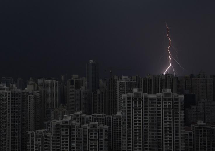 Shanghai.  (photography: Reuters)