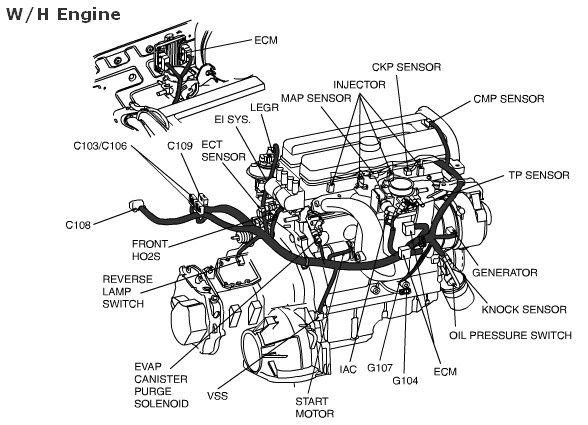2004 suzuki forenza engine diagram wiring diagram Alternator Wiring Diagram for 2004 Suzuki Forenza