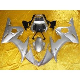 Yamaha YZF-R6 2003-2004 Injection ABS Fairing - Others - All Silver | $639.00