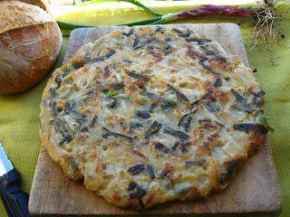 Nchiambara : frittata tipica di cipolle