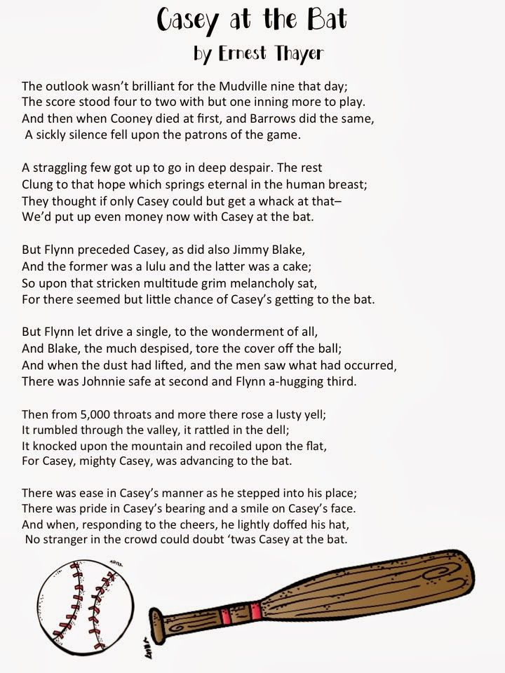 The Poem Casey At-Bat                                                       …