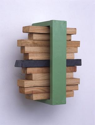 Sculpture 1 - KISHIO SUGA stack of space, 2001-2002