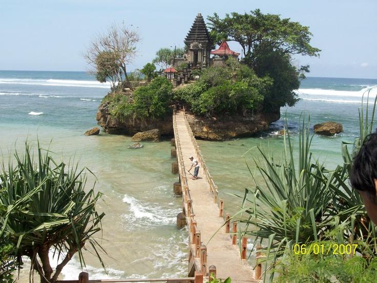 the Way to the Bale Kambang Tample, Malang, East Java, Indonesia