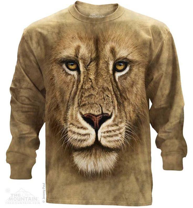 Lion Warrior Long Sleeve T-Shirt - Womens Clothing - - Women T-Shirt - T-Shirts for women - Mens Clothing - Mens t-shirts - t-shirt for men - Unisex T-Shirts - Cotton T-Shirts - Long Sleeve T-Shirts - Long Sleeve T-Shirt - Christmas Ideas - Presents for Christmas