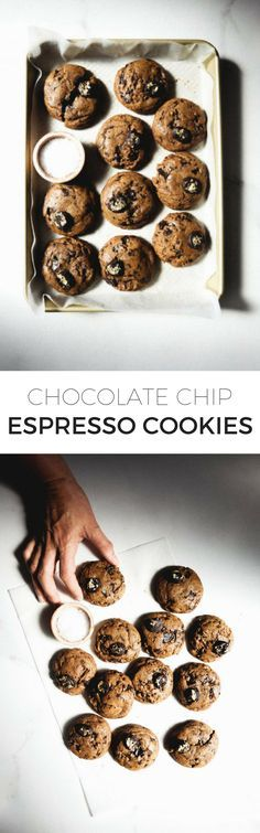 Espresso is the only thing that can make a classic chocolate chip cookie even better. These unique, rich and flavorful cookies are sure to satisfy your sweet tooth!