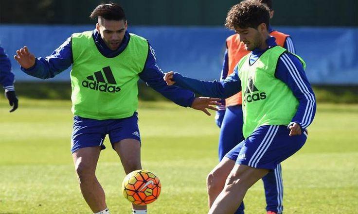 O Chelsea confirmou na última sexta-feira a saída dos atacantes Alexandre Pato e Falcao García, que estavam no clube por empréstimo.