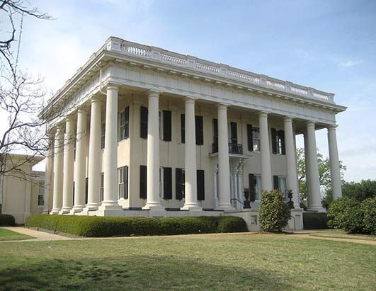 Cowles Bond House Aka Woodruff Macon GA This Home Was Used By Union Major General James H Wilson After His Command Captured In Apr