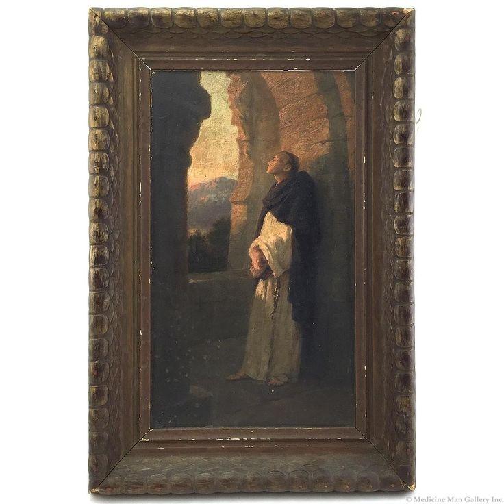 Johannes Oertel (1823-1909) - Evening Meditation
