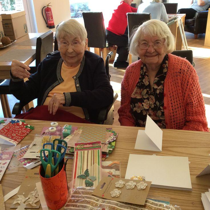 Let's get #creative - Birch Green #CareHome Skelmersdale #Activity #Craft #ResidentsFun